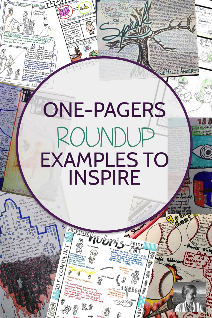 one-pagers roundup: examples to inspire - spark creativity