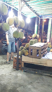 Durian di Palembang