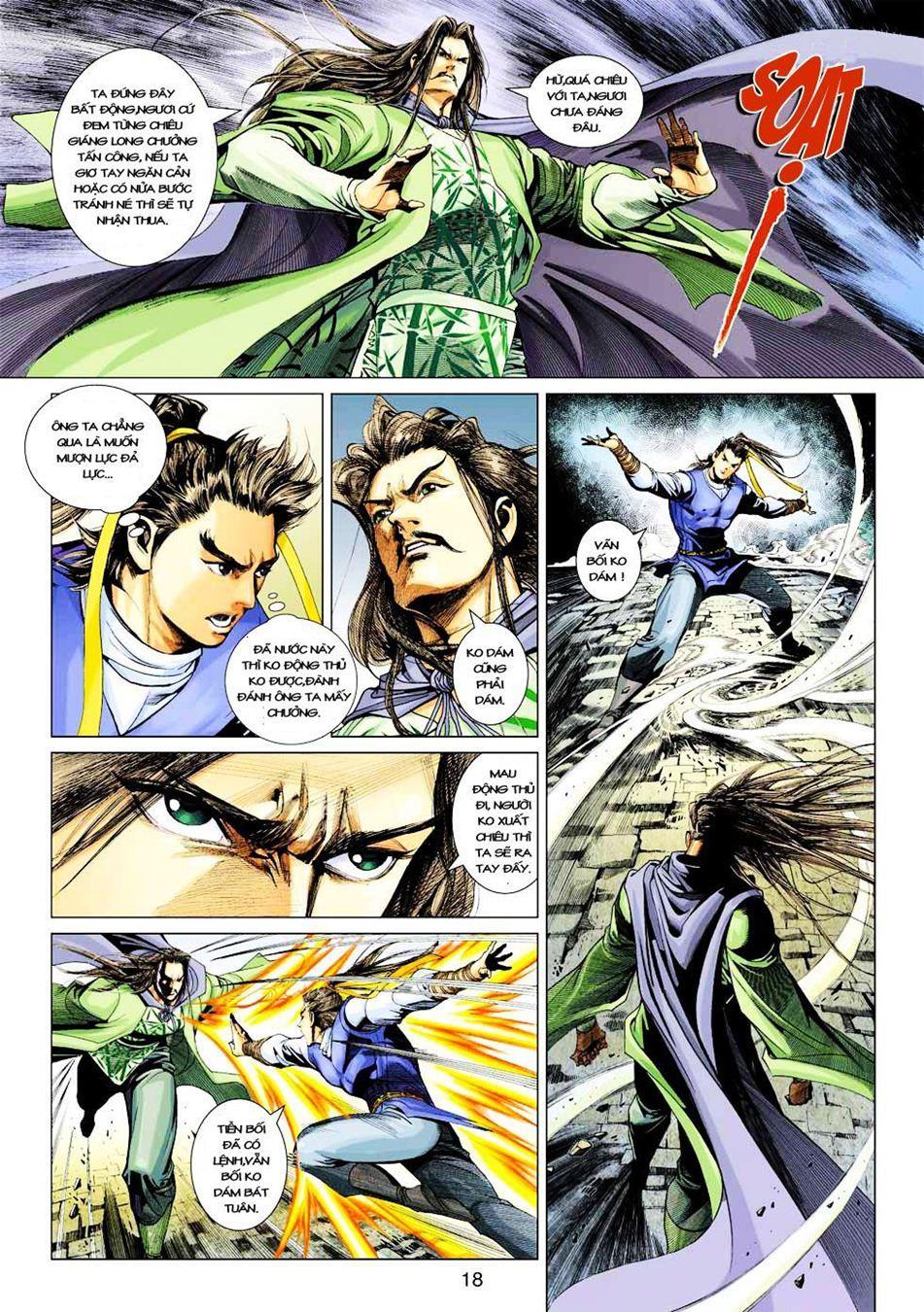 Anh Hùng Xạ Điêu anh hùng xạ đêu chap 33 trang 18