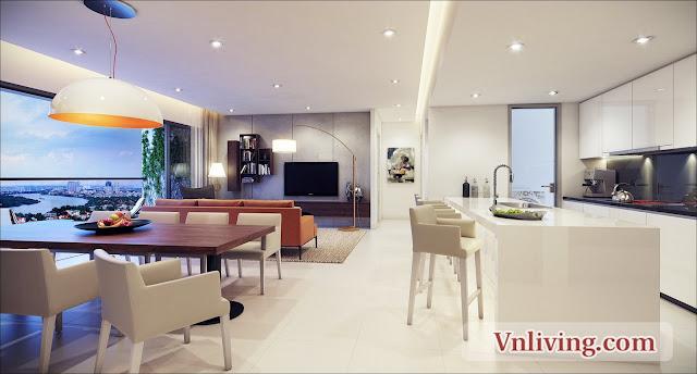 Masteri Thao Dien apartment 3 bedrooms for rent saigon riverview