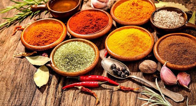 Usos y propiedades de las especias o condimentos más utilizadas, ¡toma nota!