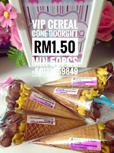 VIP CEREAL CONE DOORGIFT