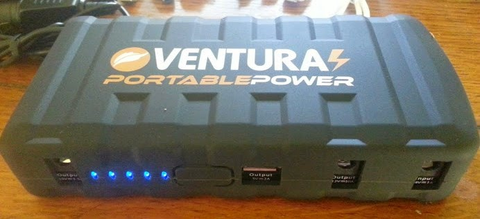 Ventura portable power bank and jump start review