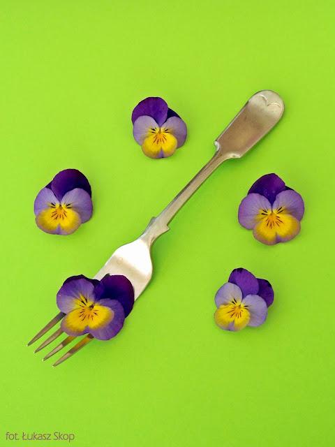 jadalne kwiaty bratków