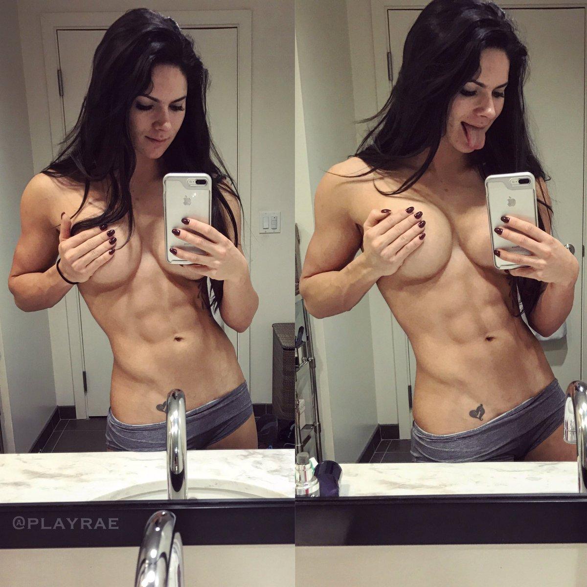 Gym girl selfie naked