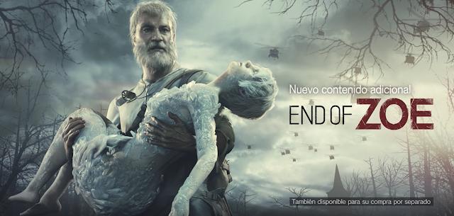 Descubre más de End of Zoe y Not a Hero de Resident Evil VII
