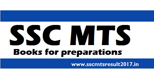 SSC MTS exam Books 2017