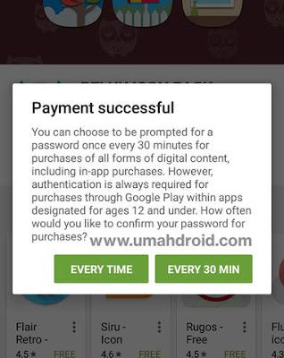 Membeli Aplikasi di Play Store Dengan Pulsa Im3
