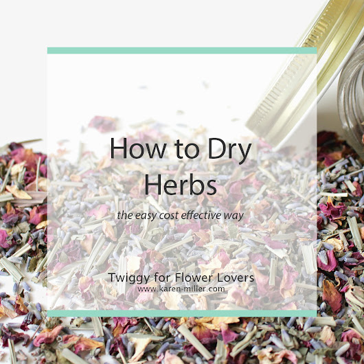 How to Easily Dry Herbs