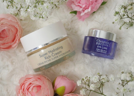 Christian Breton Super Hydrating Rich Cream and Anti-Fatigue Eye Gel review