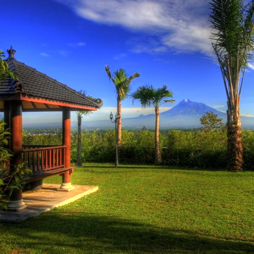 Tinuku Sumberwatu Heritage Resort in cultural and natural concept to Prambanan temple and Mount Merapi unitary landscapes