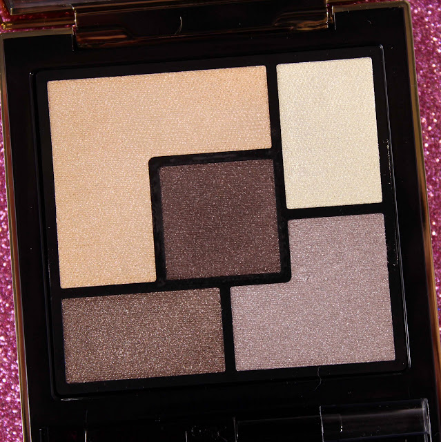 YSL Couture Palette 4 Saharienne Swatches & Review