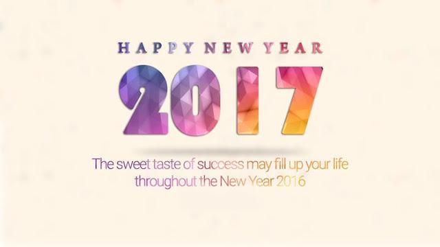 Happy New Year 2017 HD Wallpaper 10