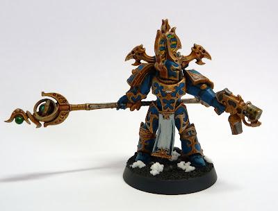Thousand Sons Rubric Marine Aspiring Sorcerer conversion for Warhammer 40,000