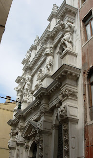 The Church of Santa Maria dei Derelitti in Venice, where can be  found Tiepolo's earliest work