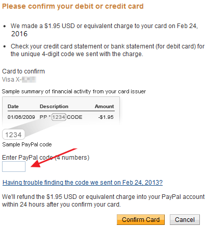 vérifier un compte Paypal
