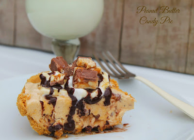 The Barnyard Bistro: Peanut Butter and Candy Pie- A Guest Post from Simply Southern Mom