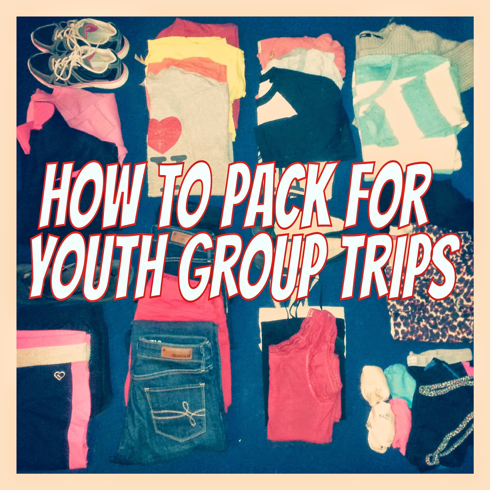 S Is For 50 Essential Things To Bring On Youth