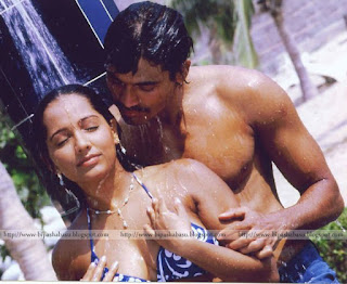 Meghna Naidu Taking Shower With Her Lover 2