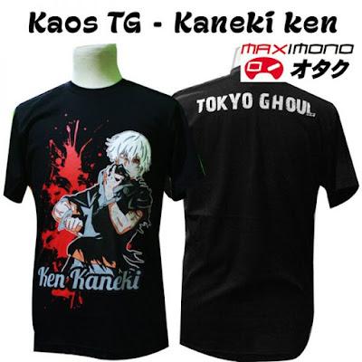 Kaos Anime Ken Kaneki – Tokyo Ghoul