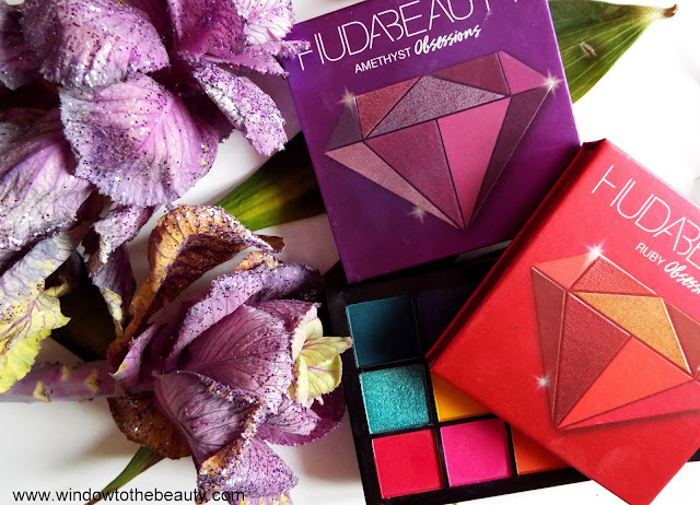 huda beauty recenzja mini palet obssesions