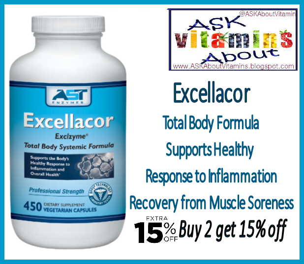 ASK About Vitamins: #Dose for #Excellacor #Fasting to #Heal