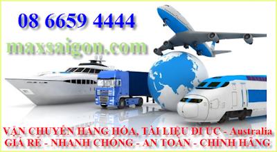 dịch vụ vận chuyển hàng hóa đi Úc - Australia giá rẻ Max sài gòn
