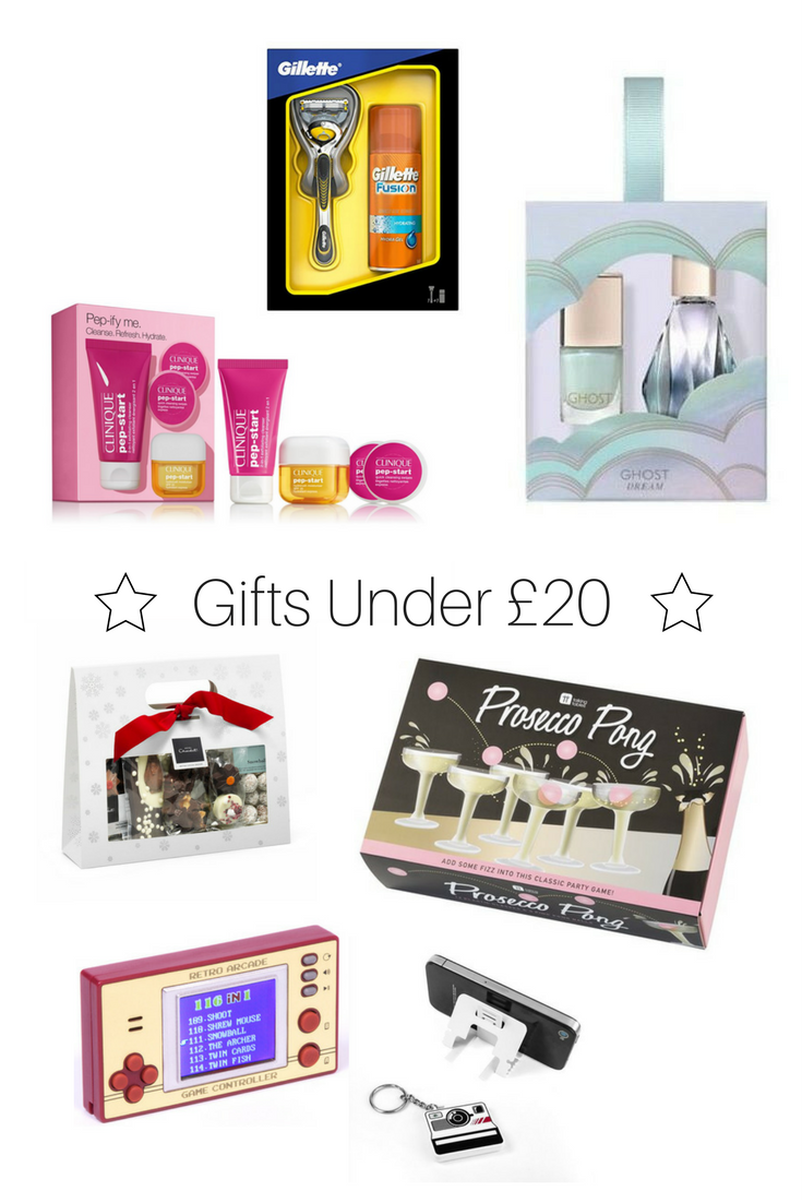 Selection of Gifts Under £20