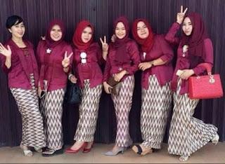 Model Baju Batik Wanita Untuk Resepsi Pernikahan