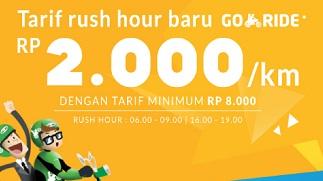 tarif rush hour gojek terbaru 2016, tarif rush hour gojek terbaru, tarif gojek terbaru, tarif rush hour gojek, rush hour gojek, tarif gojek terbaru