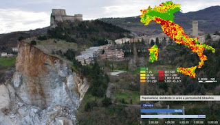 Rapporto Ispra: Italia sempre più a rischio di dissesto idrogeologico