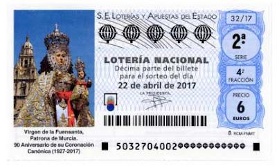 resultado disponible del sorteo de loteria nacional del sabado 22 de abril de 2017