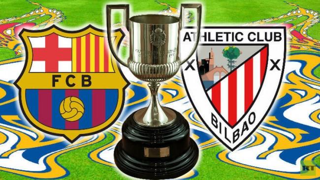 موعد مباراة برشلونة واتلتيك بلباو اليوم 5-1-2017 في كأس ملك أسبانيا والقنوات الناقلة