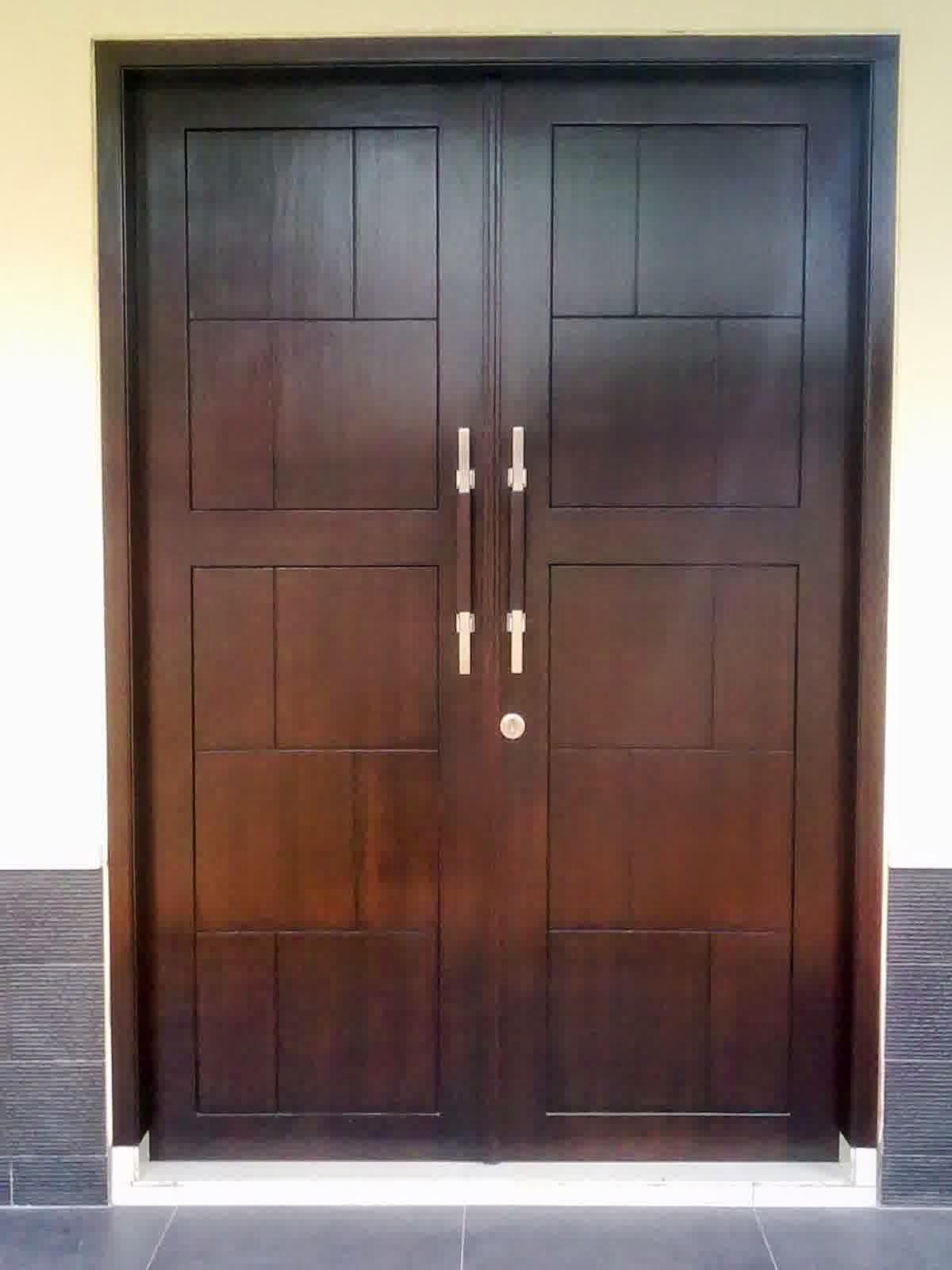 Mebel Jati Jepara Minimalis Harga Murah: Mebel Pintu Kayu Jati