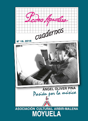 Portada libro sobre compositor msical Angel Oliver