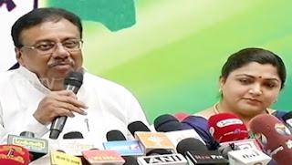 E. V. K. S. Elangovan on BJP-TMC Alliance Talks and Aravakurichi Constituency | Press Meet