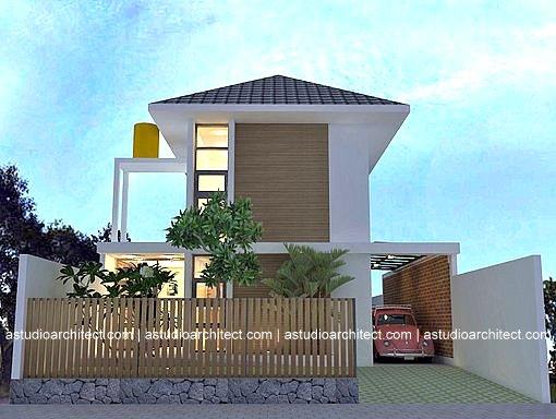 Desain rumah dengan interior industrial