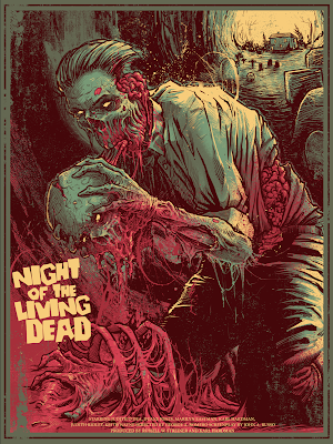 Night of the Living Dead Screen Print by Godmachine x Grey Matter Art