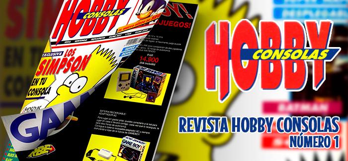 Revista Hobby Consolas Nº 1 (1991)