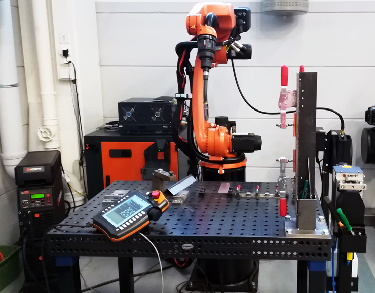 Интегрированный робототехнический сварочный комплекс KUKA + Kemppi