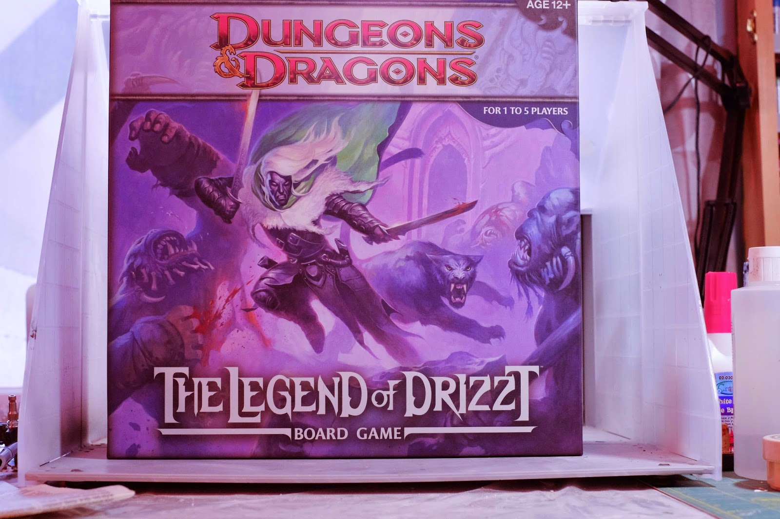 Analogue Hobbies: Keeping it Real: Legend of Drizzt Christmas