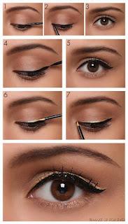 Cara Merias Mata Dengan Eyeliner