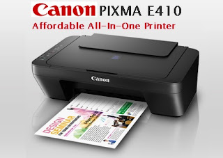 Canon PIXMA E410 Drivers & Software