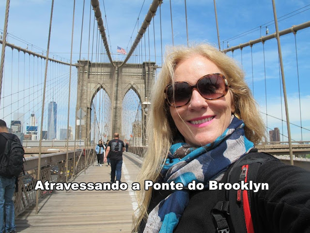 Vídeo: atravessando a Ponte do Brooklyn!