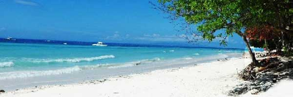 Best, peaceful and Famous tourist spots  white beach in bolod panglao bohol philippines 2018