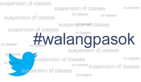 Suspension of classes on Wednesday