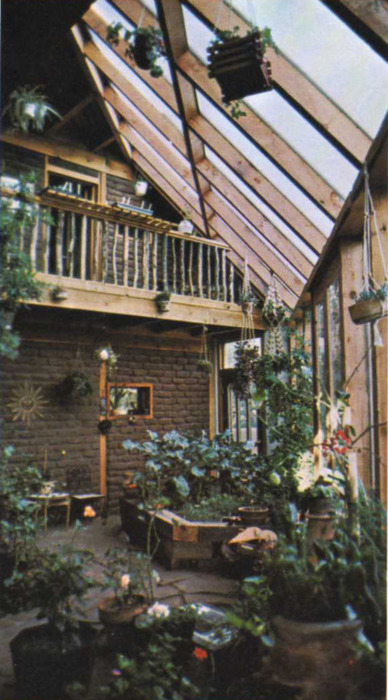 Greenhouse Attached To House Kitchens