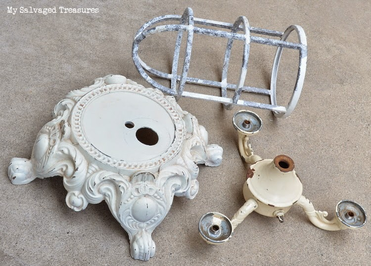 Junky Lamp Parts