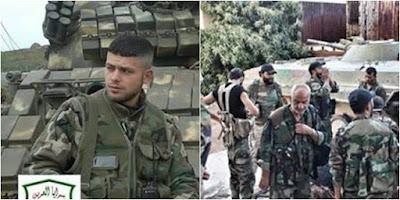 Άρμα μάχης και ΒΜΡ της Fawj Abu al-Harith