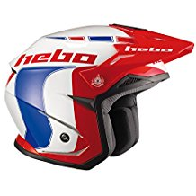 Hebo Trial Zone 5 Like Casco, Azul, Talla M